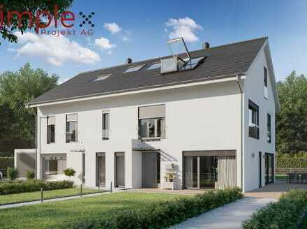 Massives Doppelhaus in ruhiger Familienlage mit hochwertiger Ausstattung - frei planbar.