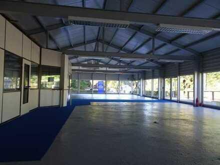 Großes Grundstück 1879 qm mit Garage, und Büro 45 qm, Halle 375 qm !!