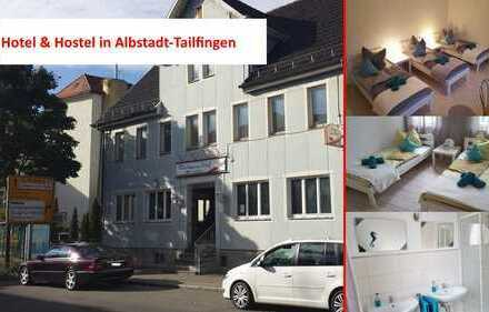 Hotel & Hostel in Albstadt-Tailfingen +Sofortige Einnahmen inklusive+