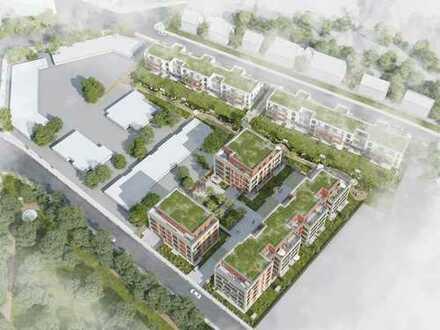Was für ein Wohngefühl! 3-Zimmer-Penthousewohnung mit 4 Dachterrassen + 3 Dachgärten in toller Lage