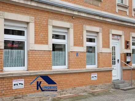 Ebenerdige Gewerbeeinheit im modernisierten Wohn- und Geschäftshaus in Zeitz zu vermieten