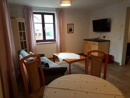 Erstbezug nach Sanierung, vollmöbliert, stilvolle 2-Zimmer-Wohnung in Teningen
