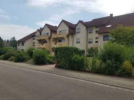 Gepflegte 3-Zimmer-Erdgeschosswohnung mit Balkon und Einbauküche in Ludwigshafen am Rhein