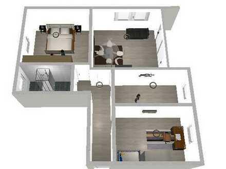 Renovierte exklusive, gepflegte 3-Zimmer-Wohnung mit Balkon in Dortmund Aplerbeck nahe B1