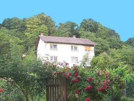 Mehr als eine 4-Zimmer-Wohnung 80 qm in einem 2-Familienhaus im Grünen und ruhig