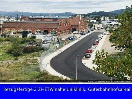 Bezugsfreie 2-ZI-ETW nähe Uniklinik, Güterbahnhofsareal