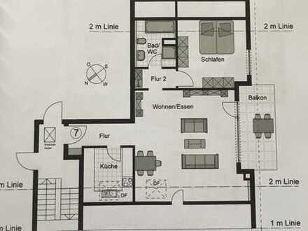 KAPITALANLAGE! Vermietete 2 -Zimmer Eigentumswohnung zu verkaufen