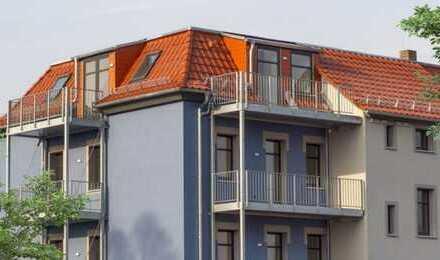 *Von Privat* Erstbezug nach Sanierung: exklusive 4-Zimmer-DG-Wohnung mit 2 Balkonen