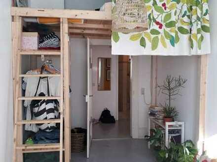 Gemütliches möbliertes Zimmer (12 m²) in 3er WG zur Zwischenmiete in der Südstadt
