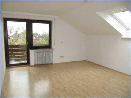 Sonnige 2 Zi. Dachgeschoßwohnung mit Balkon in Bad Wörishofen