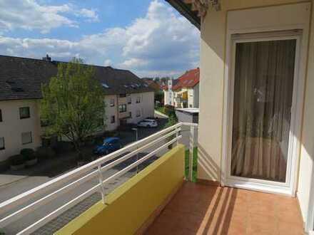 Gepflegte 3ZKB mit Garage und 2 Balkonen