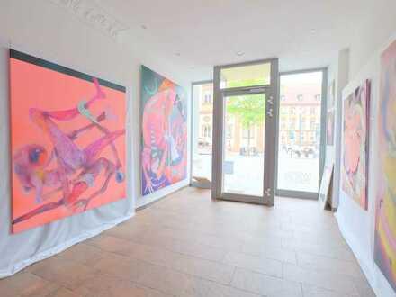 Einzelhandelsfläche mit großem Schaufenster in der Bayreuther Fußgängerzone!