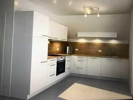 Erstbezug: freundliche 3-Zimmer-Wohnung mit Einbauküche und Balkon in Schwabmünchen