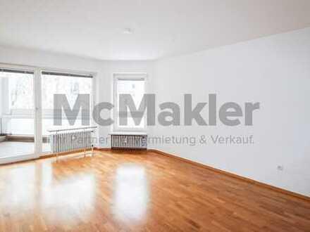 Sofort bezugsfrei - Attraktive 3-Zi.-ETW mit Süd-West Balkon in zentraler Wohnlage von Augsburg!