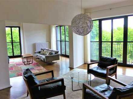 Top sanierte 5 Zimmer Wohnung im Neubaustandard in bester Lage am Hofgarten!
