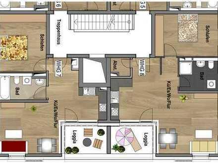 1.Obergeschoss - Wohnung 08