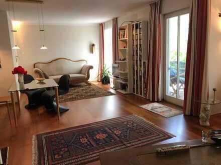Ruhig + Gartenteich: 3-Zimmer-Wohnung in Rosenheim-West