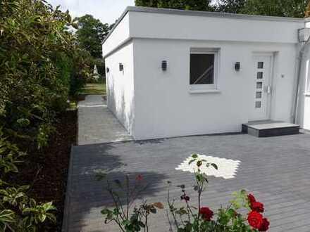 Schöner 2 Zimmer Bungalow mit großer Terrasse und Garten-Nutzung von Privat