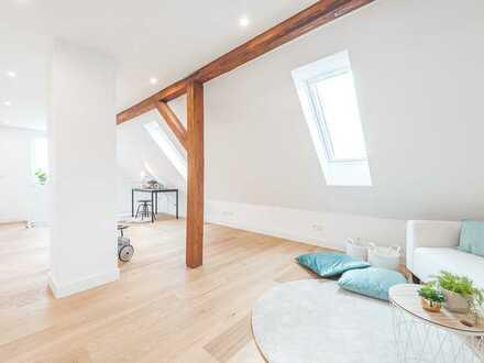 Charmante Maisonette-Wohnung mit Balkon u. Garage
