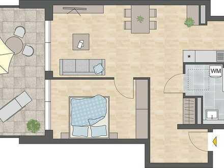 Tolle 2 Zimmerwohnung im betreuten Wohnen
