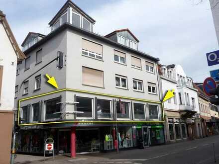 Top-Lage in Sinsheimer Innenstadt: Friseur- oder Kosmetikstudio im 1. OG