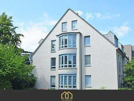 Radio-Bremen / Helle Maisonette-Wohnung mit Einbauküche und Balkon