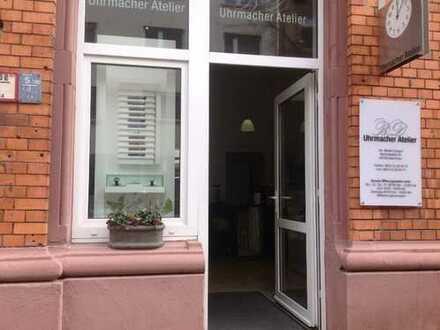 MA-Lindenhof-Jugendstilhaus-Büro/Laden-EG 3Zi/WC-Nähe HBH-Bei bedarf erweiterbar