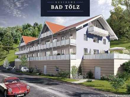 """Residenz Bad Tölz"" Neubau 1-2 Zi.-OG-Wohnung"