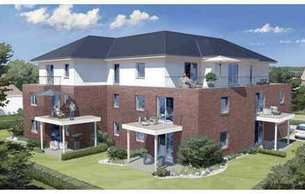 Super Neubau-Mietwohnung mit großer Dachterrasse, Fahrstuhl, Kellerraum, TG- und Aussenstellplatz!