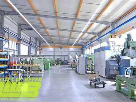 Hochwertige Lager- und Produktionsflächen im Hamburger Nord-Osten