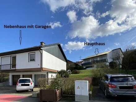 Zwei Häuser in bester Lage von Hirschhorn mit Schlossblick