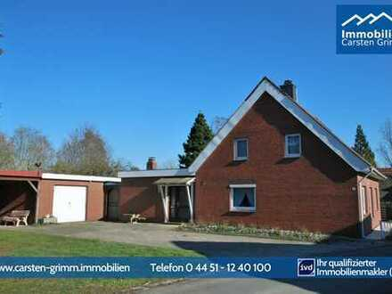 Rodenkirchen - 1596m² idyllisches Grundstück - san.bed.-EFH - Garage und Carport