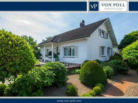 Gepflegtes Einfamilienhaus mit wunderschönem Grundstück in zentraler Lage von Wildeshausen