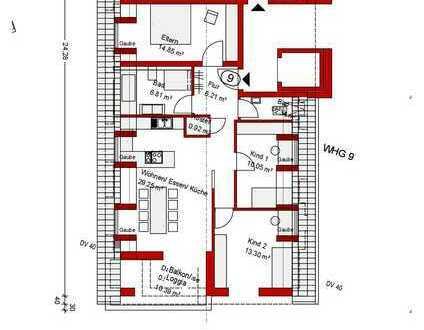 Helle Neubauwohnung DG Nr. 9