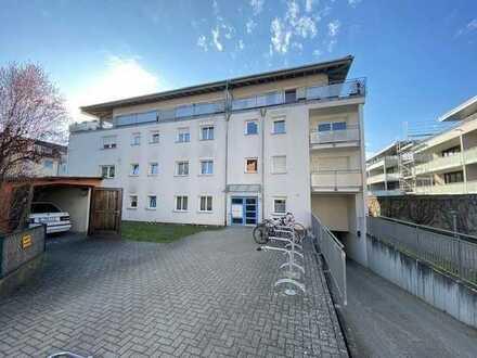 Zentrumsnah: 2-Zimmer-Wohnung in Lörrach mit eigenem Garten