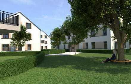 WE 01 Erstbezug, zentral gelegene Erdgeschoss 2 Zimmer Wohnung mit Terrasse hinter Rossmann