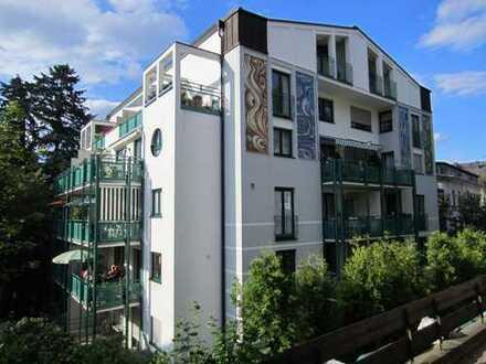 3 Zimmer-Wohnung mit Aufzug und Blick auf den Kurpark von Bad Schwalbach
