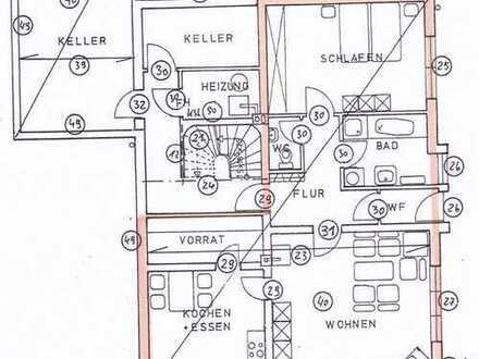 Geräumige, gepflegte 2-Zimmer-Wohnung in Stadecken-Elsheim