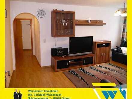 Hochwertig ausgestattete und großzügig geschnittene 3-Zimmer-Wohnung im Herzen der Füssener Altstadt