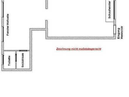 Büroräume / Ladenlokal E.-Süd Huttrop Bergerh. Rüttenscheid