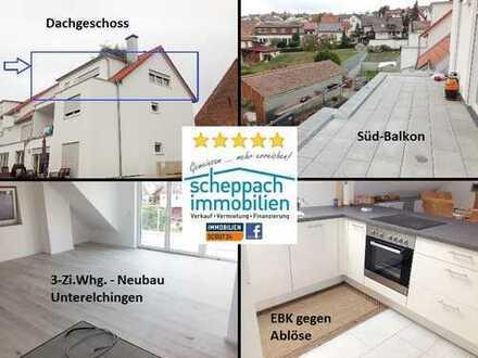 Neubauwohnung mit Weitsicht in Unterelchingen!