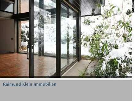 Großes Architektenhaus mit Zweifamilienhaus und Doppelgarage in Burscheid-Dürscheid