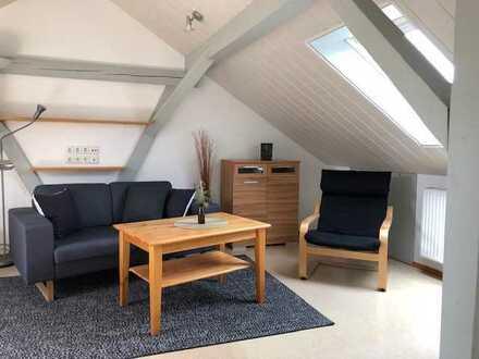 Wohnung möbliert f. Wochenendheimfahrer (30m²); 1 Zimmer inkl. Kochnische + Tageslichtbad, Warmmiete