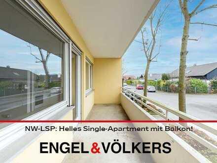 Helles Single-Apartment mit Balkon!
