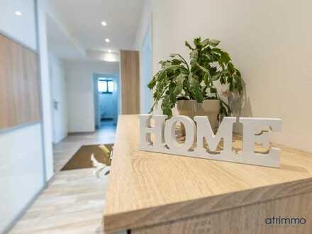 Helle und exklusiv ausgestattete Wohnung mit Garten, Terrasse & TG-Platz. In Brühl.