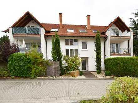 Stadtnahe 2-Zimmerwohnung mit Balkon und Garage in gepflegtem Mehrparteienhaus NW-Haardt