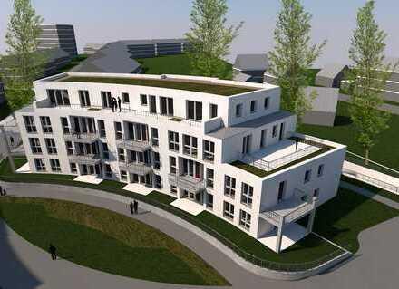 Exklusiver Neubau mit Terrasse und mietereigenen Garten in ruhiger Lage