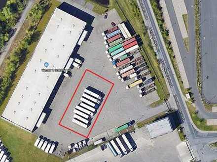Lkw-Stellplätze / Abstellfläche / Freilager