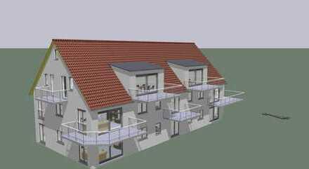Große Neubau-Dachgeschosswohnung in Mühlried