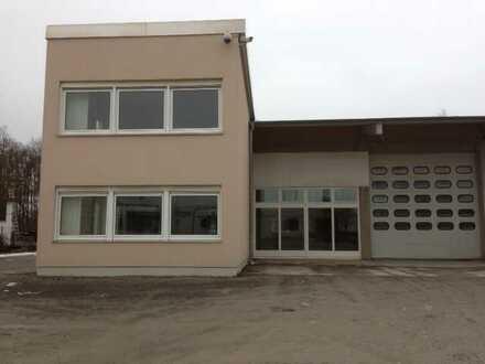 Helle freundliche Büroräume mit Werkstatt oder Lager- bzw. Ausstellungs - Halle in Veitshöchheim